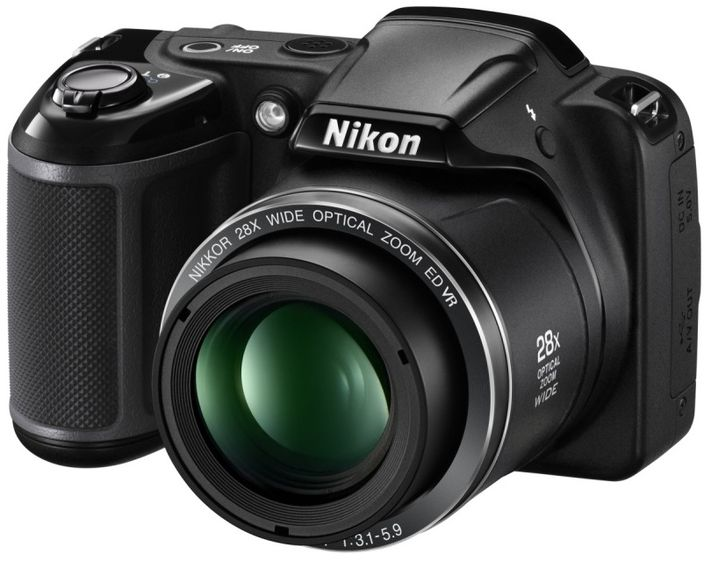Nikon COOLPIX P610, L840 and L340 - modern compact camera with powerful zoom lenses