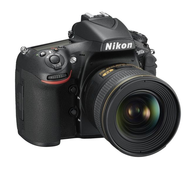 New Nikon D810A - the first digital SLR camera Nikon for astrophotography