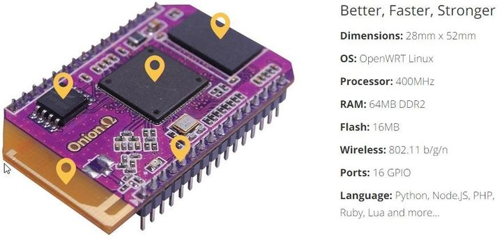 "Onion Omega - new miniature computer for the ""Internet of Things"""