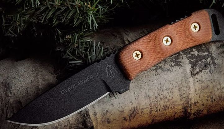 Overlander 2 - new and modern version working from tops knives knife