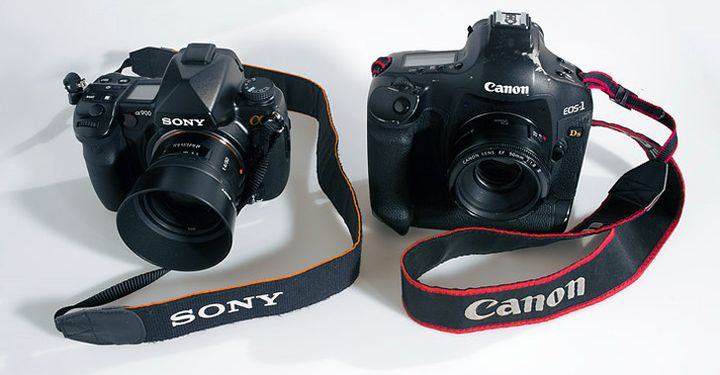 Partnership between Sony and Canon in the production of matrices