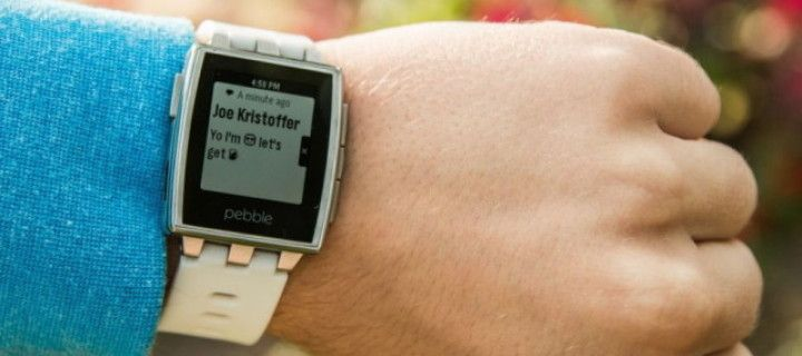 Sales up of smart watch Pebble doubled
