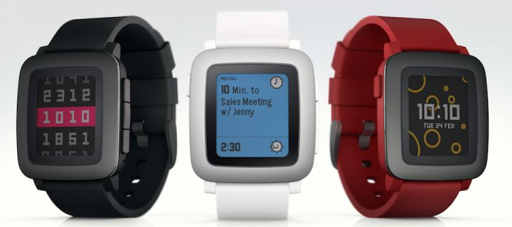 Pebble Time with color display presented officially