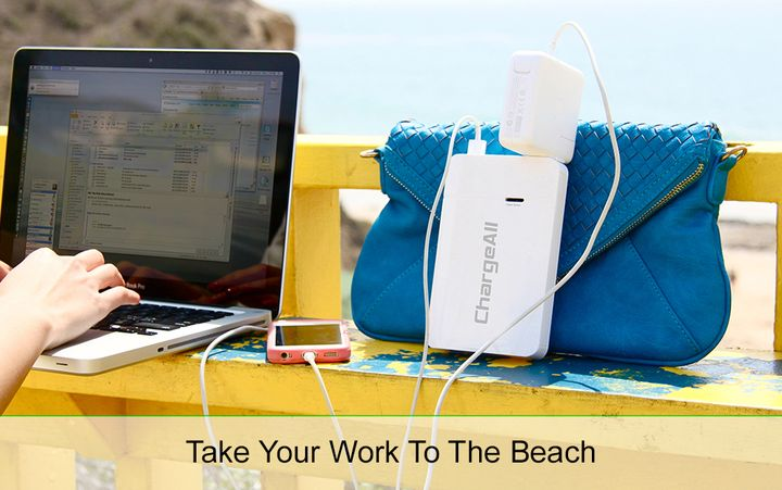 Portable new battery socket for laptops ChargeAll