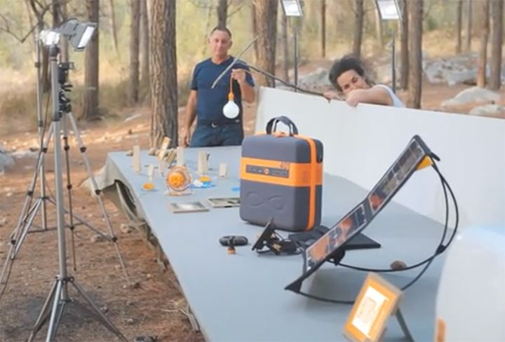 Powerful new solar generator - battery KaliPAK for expeditions and Emergencies