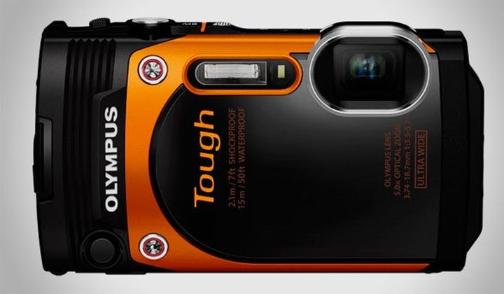 Rugged modern camera Olympus Stylus Tough TG-860