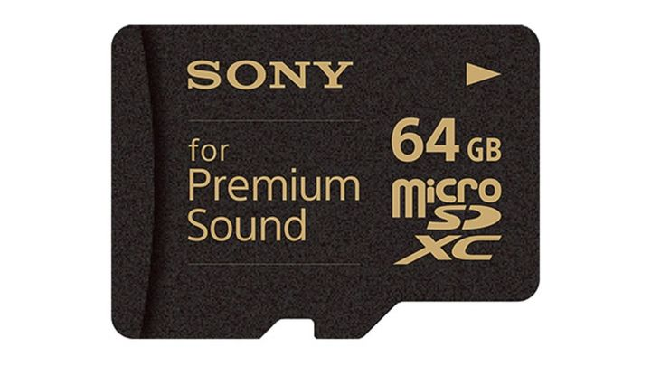 Sony SR-64HXA: new memory card for audiophiles