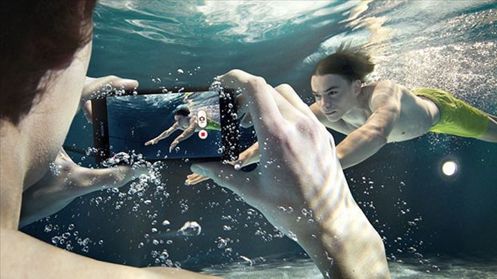 Sony unveiled at MWC 2015 waterproof new Xperia M4 Aqua