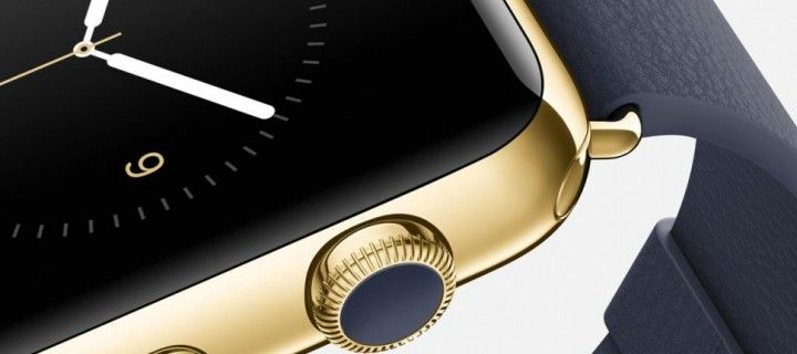 In stores Apple install safes for safekeeping new gold model Apple Watch