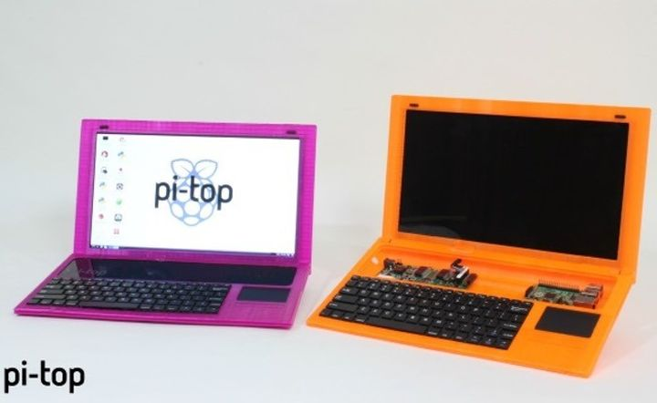 Submitted 3 version of the new laptop Pi-Top Raspberry Pi