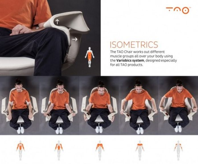 New TAO chair allows you to practice relaxing in your living room