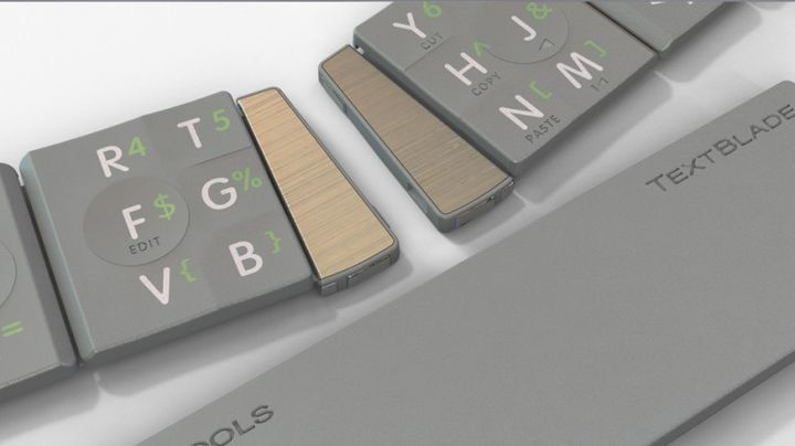 TextBlade - new portable keyboard and something more than a collection of its parts