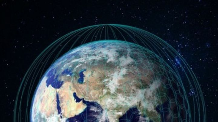 "The largest satellite ""constellation"" in the world will provide the new global Internet"