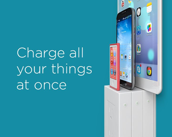thingCHARGER: new socket, which can charge several devices