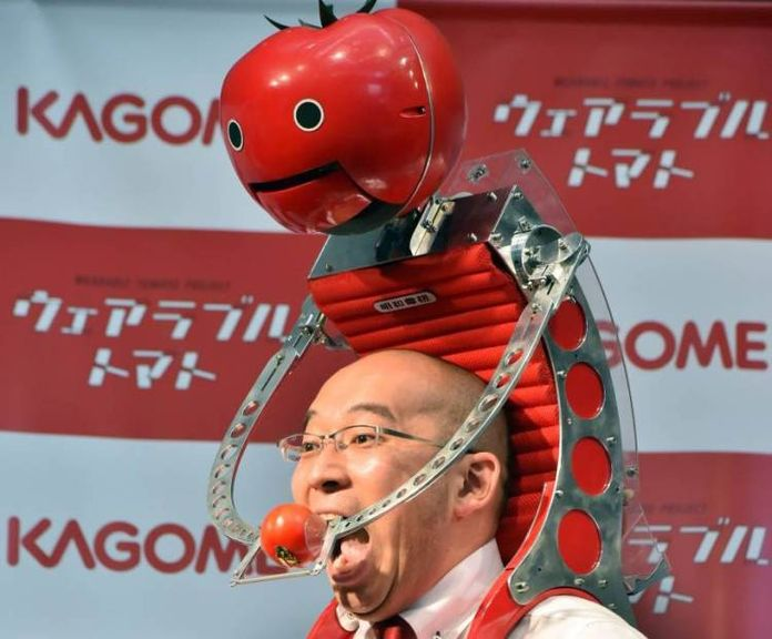 Tomatan - new robot feeding tomatoes owner