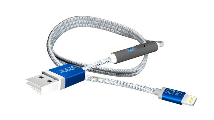 USB-cable to charge your smartphone new SONICable allow faster