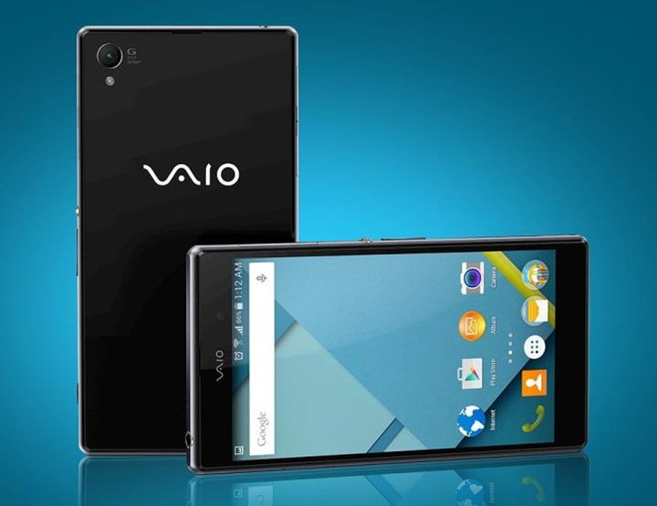 New VAIO show its first smartphone on March 12