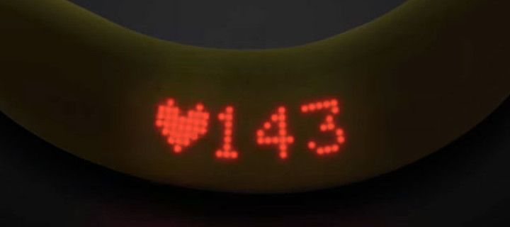 Wearable Banana - the first new tracker which can be eaten