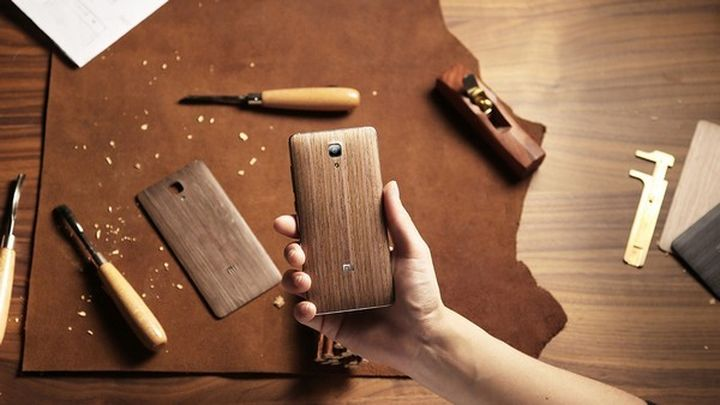 New Xiaomi Mi4 got wooden rear lids