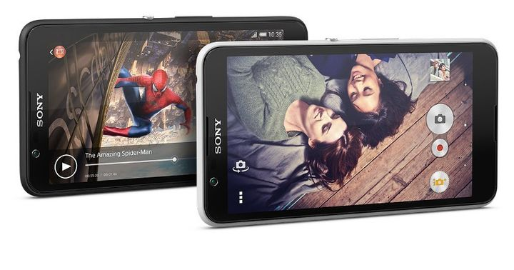 Xperia E4g - new inexpensive smartphone with LTE from Sony