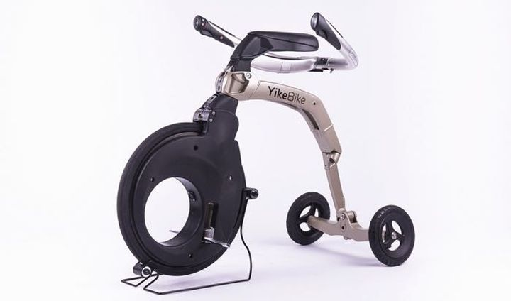 Yikebike - modern folding electric bicycle