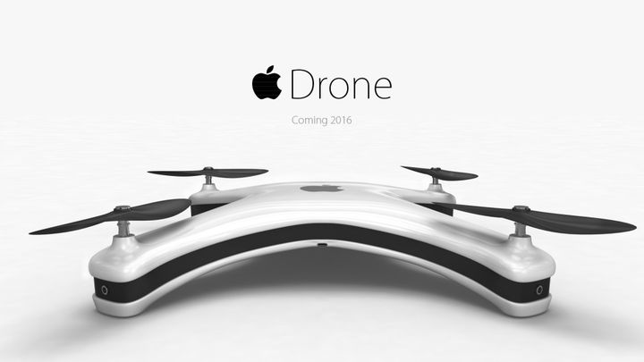 "Apple Drone - ""apple"" squares copter"