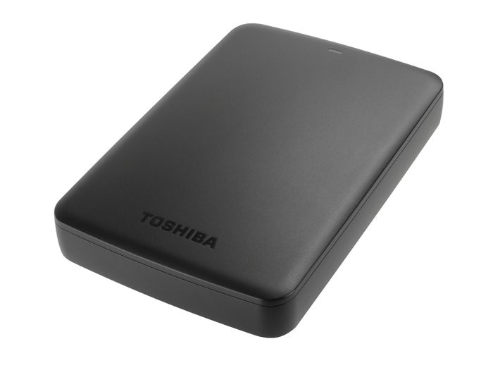 Toshiba is new portable drives CANVIO increased capacity