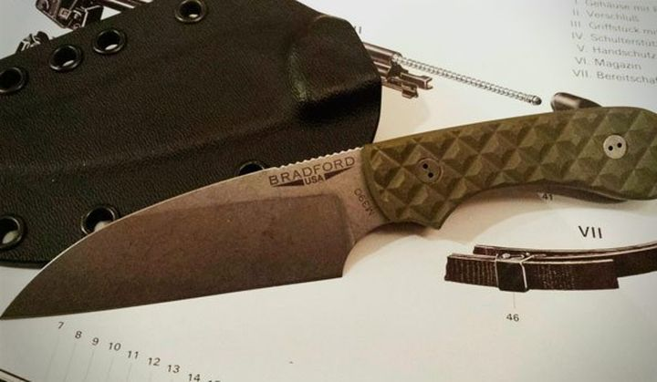 Guardian3 Wharncliffe - new and modern knife from Bradford Knives