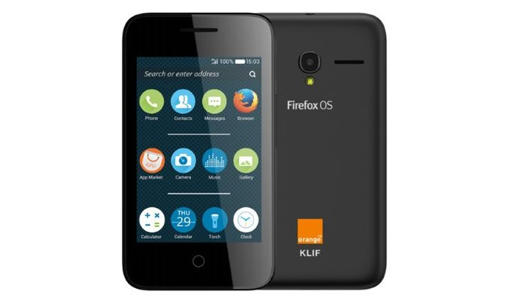 Alcatel Orange Klif: Firefox OS 2.0 for 39 USD