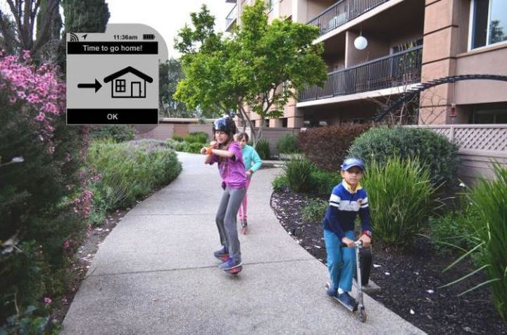 AmbyGear - new smart watches for children and their parents