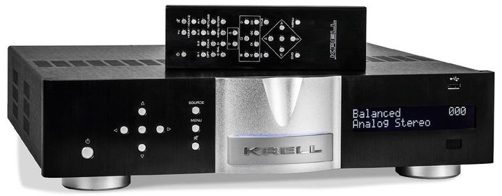 Amplifier Krell Vanguard review: This powerful and so different Krell