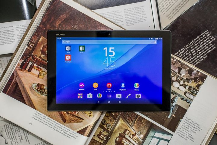The announcement of the new flagship Sony Xperia Z4 Tablet
