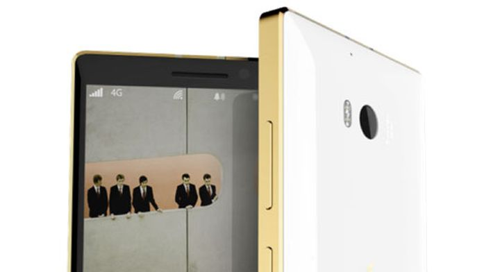 Began selling smartphones new Lumia 830 Gold and Lumia 930 Gold