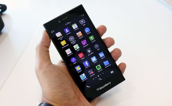 "Blackberry Leap: new ""workhorse"" for business users"