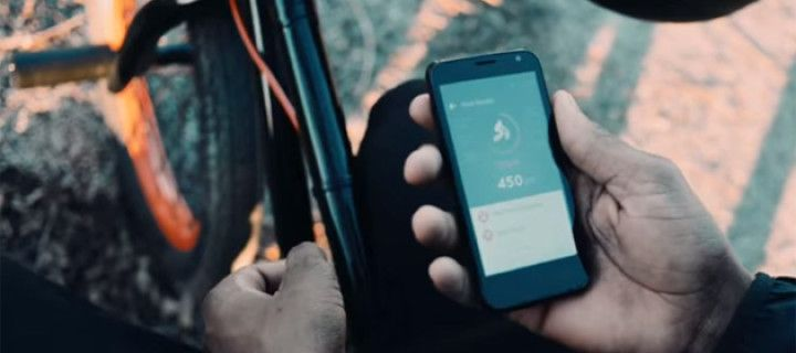 New BMX-sensor Iddo keeps track of your stunts and jumps