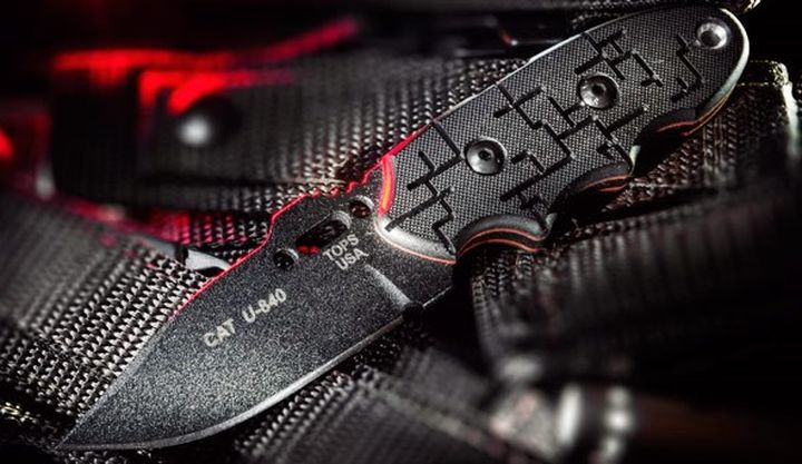 C.A.T 200 and C.A.T. 203 - new fixed blades blade from Tops Knives