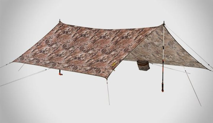 Contour Bivy and Satellite Tarp - new equipment from slumberjack