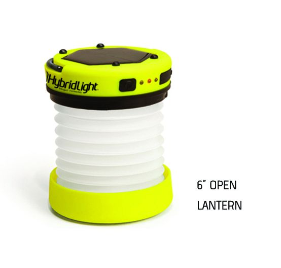 Folding USB flashlight and charger HybridLight