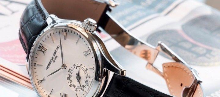 "Frederique Constant watches combine elegance and ""smart option"""