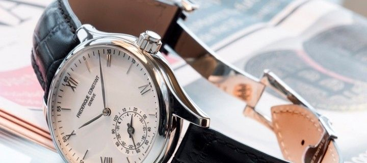 "Frederique Constant watches combine elegance and ""smart option"""