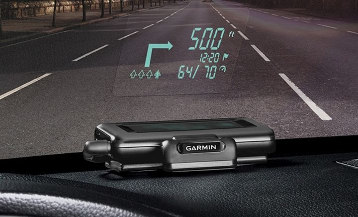 Garmin HUD: Navigator with projector for Car Windshield