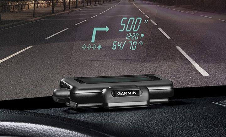Garmin HUD: Navigator with projector for Car Windshield