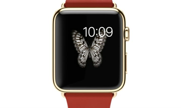 Golden Apple Watch for 17 thousand dollars does not want to?