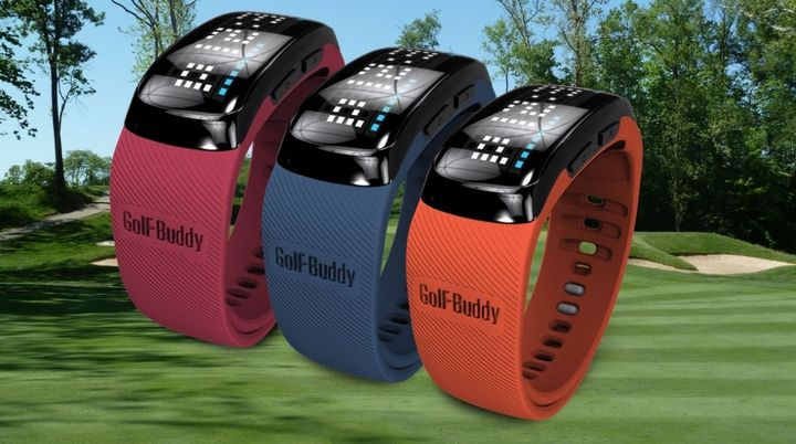Golf Buddy BB5 - first bracelet for golfers with GPS option
