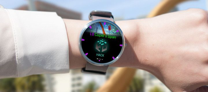 Google game with elements of augmented new reality available for Android Wear
