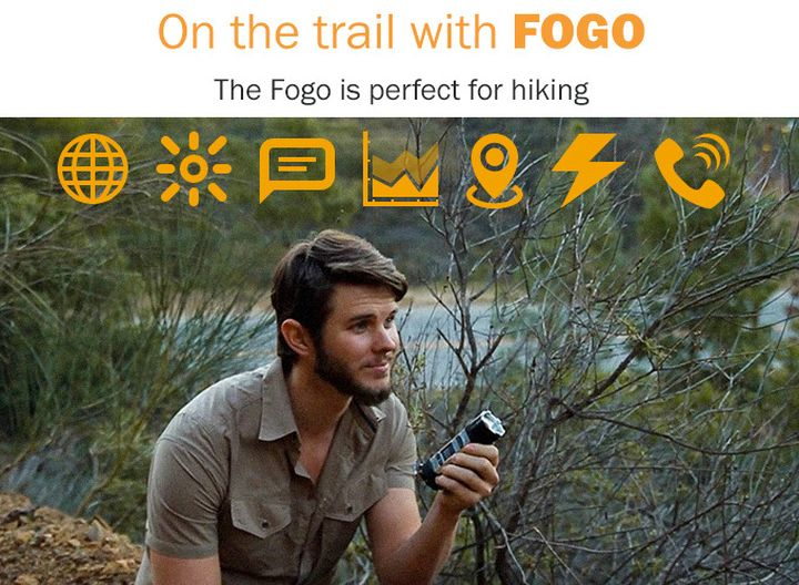 "GPS radio-CCP ""all-in-one"" Fogo Tourism and survival"