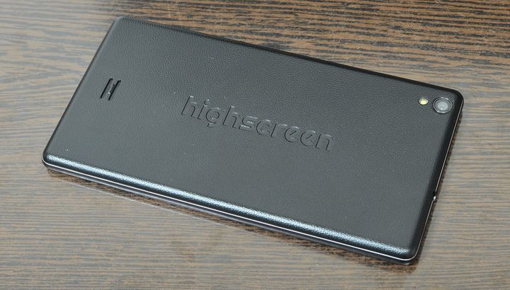 Highscreen Spade review - 5,5-inch 8-core Phablet