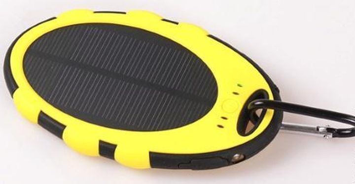 Hiking solar panel with battery Pinsum PSM4000
