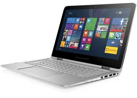 HP announced a notebook-transformer HP Spectre x360
