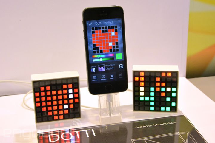 Interactive lighting Notti and Dotti came on the market